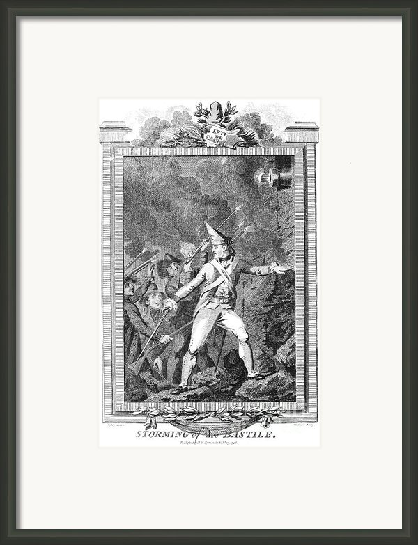 French Revolution, 1789 Framed Print By Granger