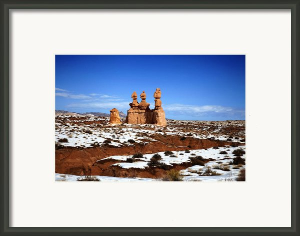 Goblin Valley Framed Print By Mark Smith
