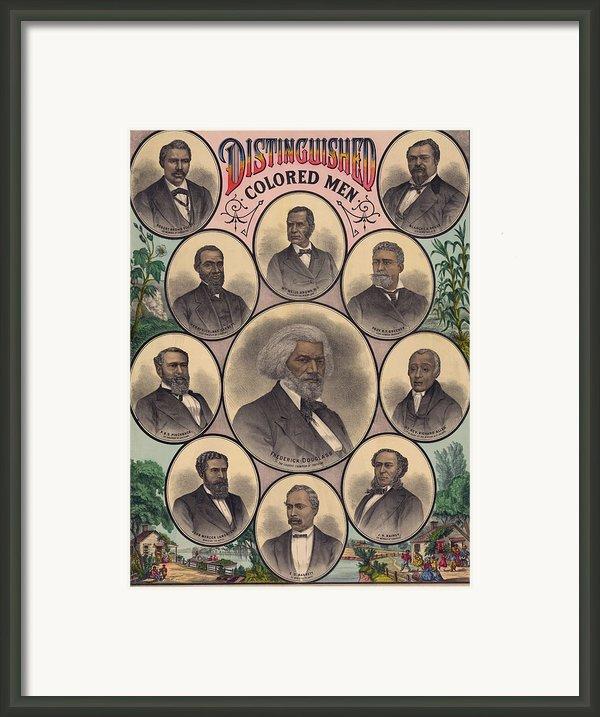 1883 Print Commemorating Framed Print By Everett