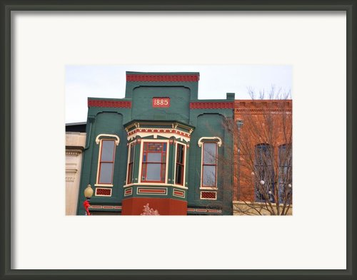 1885 Framed Print By Jan Amiss Photography