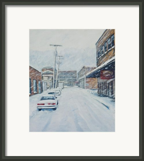18th From Smallman Framed Print By Erik Schutzman