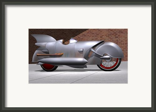 1929 Steam Cycle Framed Print By Stuart Swartz