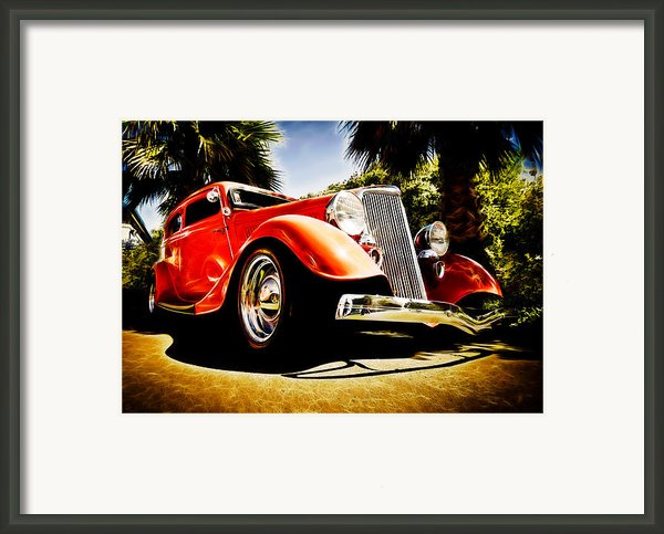 1930s Ford Tudor Framed Print By Phil