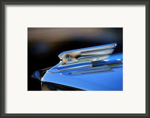 1931 Marmon Sixteen Coupe Hood Ornament 2 Framed Print By Jill Reger