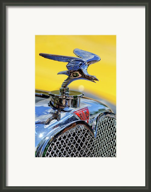 1932 Alvis Hood Ornament Framed Print By Jill Reger