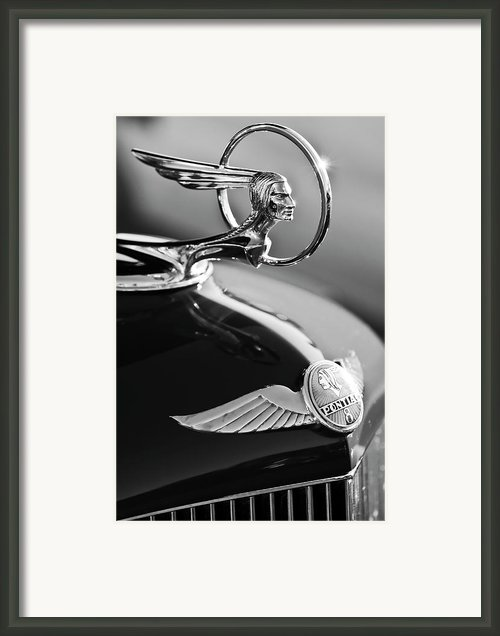 1933 Pontiac Hood Ornament 4 Framed Print By Jill Reger
