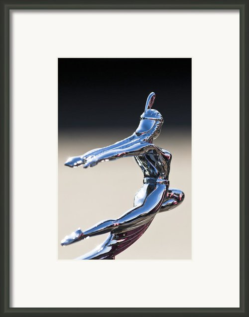 1935 Pontiac Hood Ornament 1 Framed Print By Jill Reger