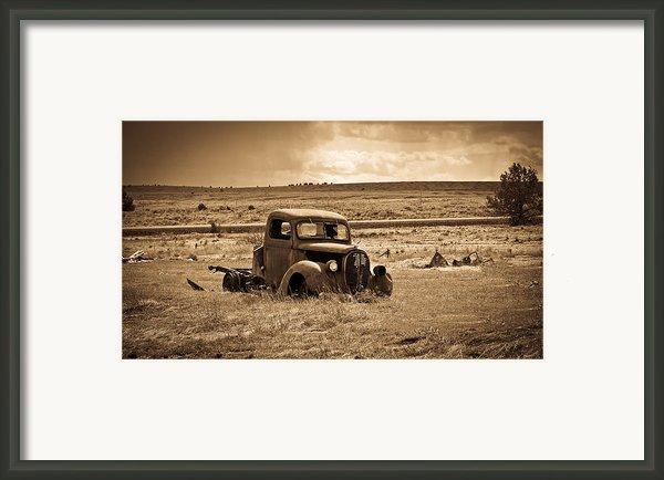 1938 Ford Pickup Framed Print By Steve Mckinzie