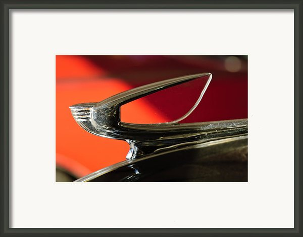 1939 Chevrolet Hood Ornament 2 Framed Print By Jill Reger