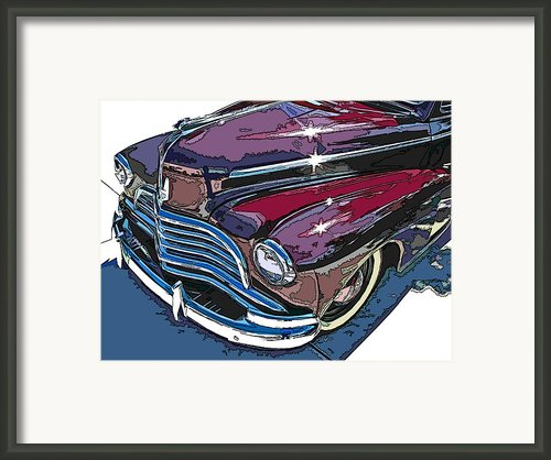 1946 Chevrolet Front Study Framed Print By Samuel Sheats