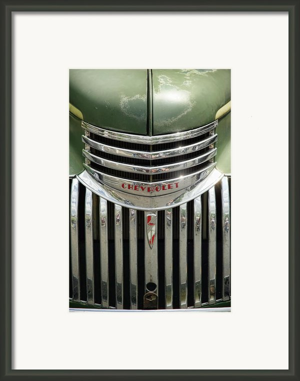 1946 Chevrolet Pick Up Framed Print By Gordon Dean Ii