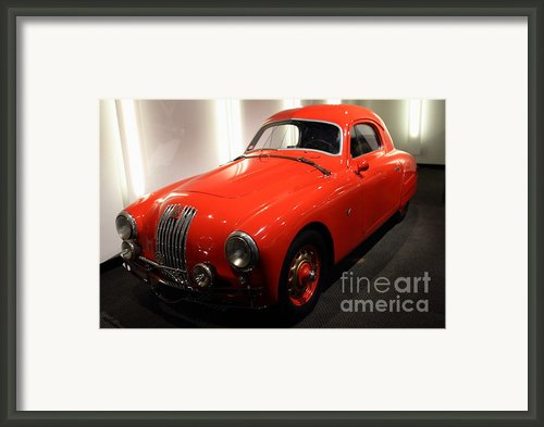 1948 Fiat 1100s - 7d17308 Framed Print By Wingsdomain Art And Photography