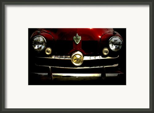 1949 Crosley  Framed Print By Steven  Digman