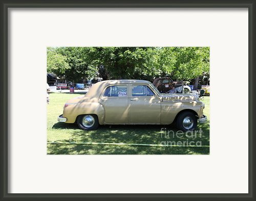 1949 Plymouth Delux Sedan . 5d16208 Framed Print By Wingsdomain Art And Photography