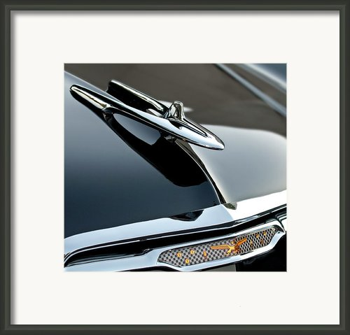 1955 Desoto Hood Ornament Framed Print By Jill Reger