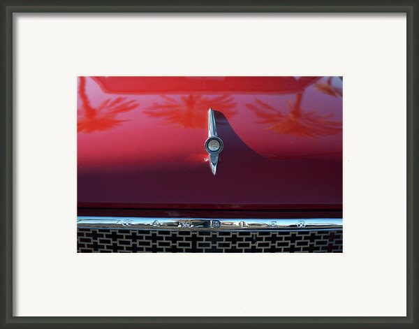 1961 Rambler Hood Ornament 2 Framed Print By Jill Reger