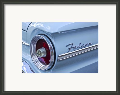1963 Ford Falcon Convertible Taillight Framed Print By Jill Reger