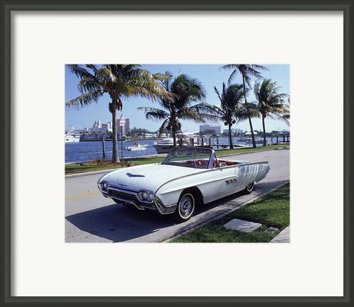 1963 Ford Thunderbird Framed Print By Fpg