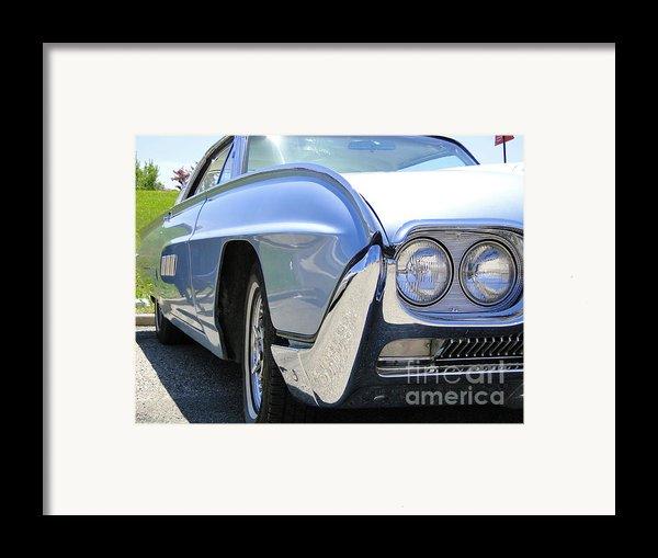 1963 Ford Thunderbird Limited Edition Landau Framed Print By Al Bourassa