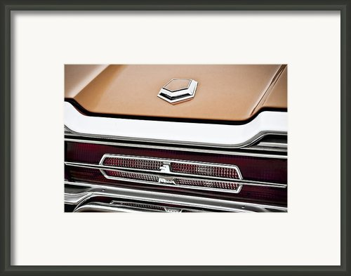1966 Ford Thunderbird Framed Print By Gordon Dean Ii