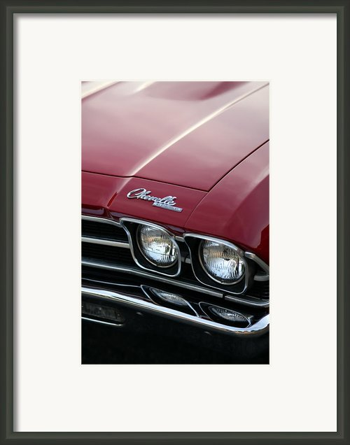 1968 Chevy Chevelle Ss Framed Print By Gordon Dean Ii