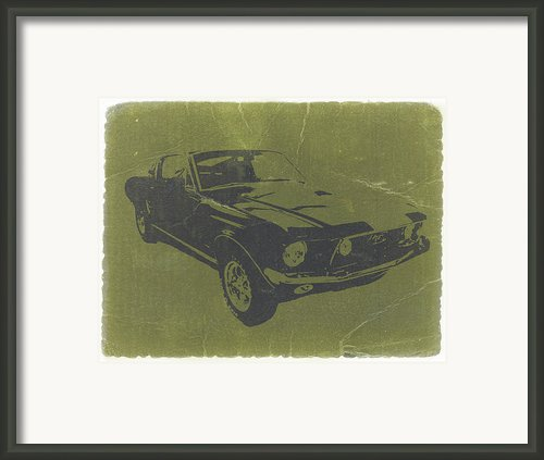 1968 Ford Mustang Framed Print By Irina  March