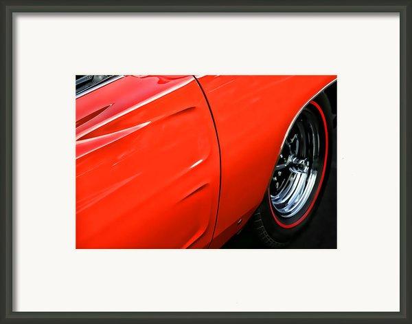 1969 Dodge Charger Rt Framed Print By Gordon Dean Ii