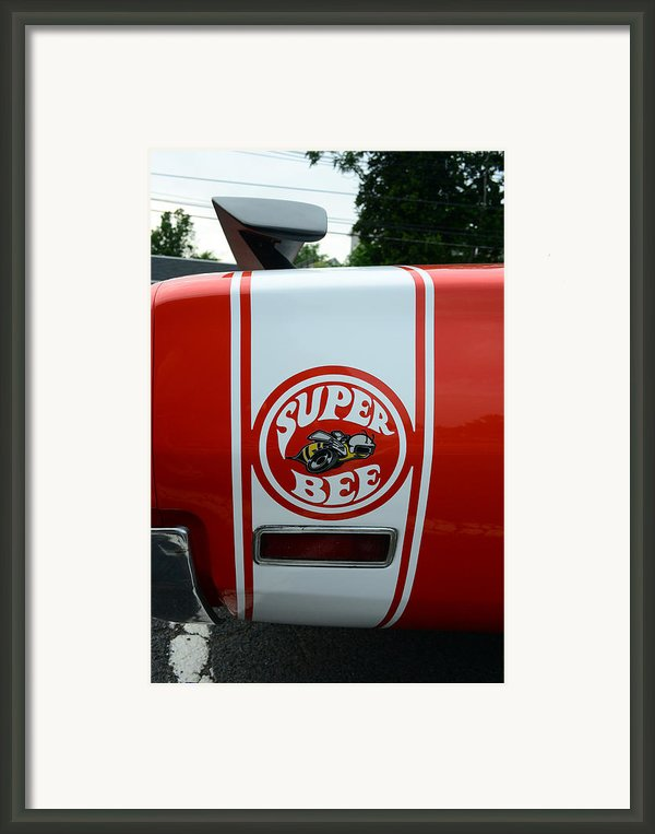 1970 Dodge Super Bee 1 Framed Print By Paul Ward