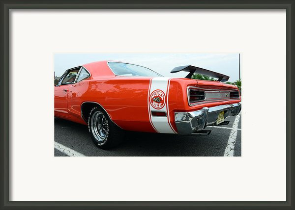 1970 Dodge Super Bee 2 Framed Print By Paul Ward