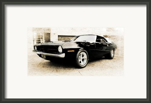 1970 Plymouth Cuda Framed Print By Phil