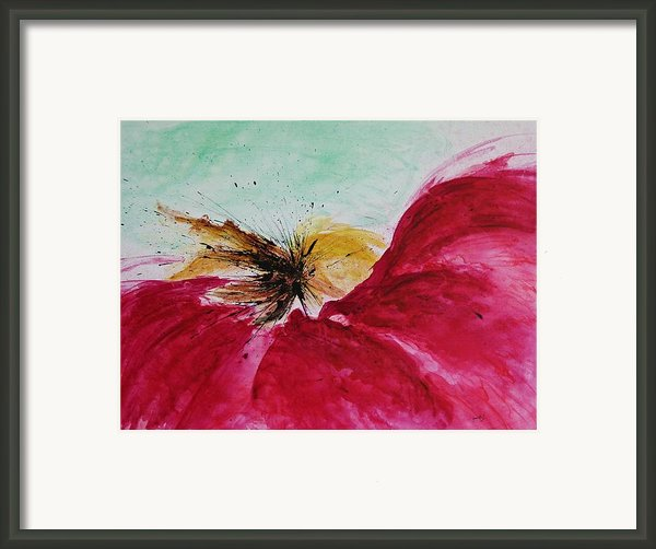 Abstract Flower  Framed Print By Ismeta Gruenwald