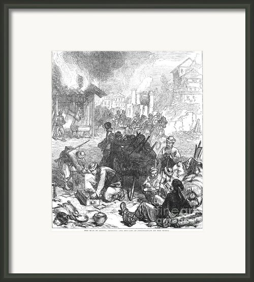 Balkan Insurgency, 1876 Framed Print By Granger