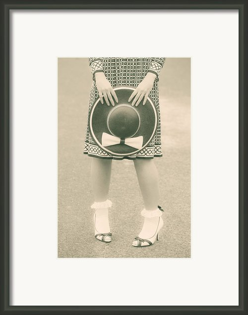 Black And White Framed Print By Joana Kruse