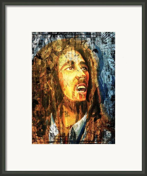 Bob Marley Framed Print By Biren Biren