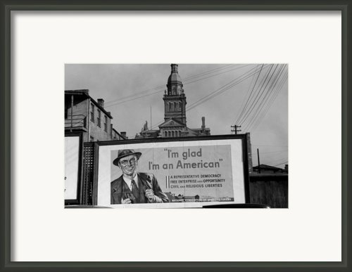 Corporate Resistance To Fdrs New Deal Framed Print By Everett