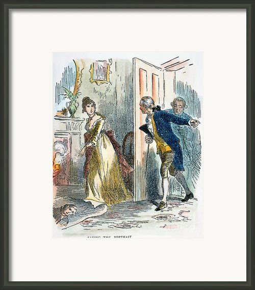 Dolley Madison (1768-1849) Framed Print By Granger
