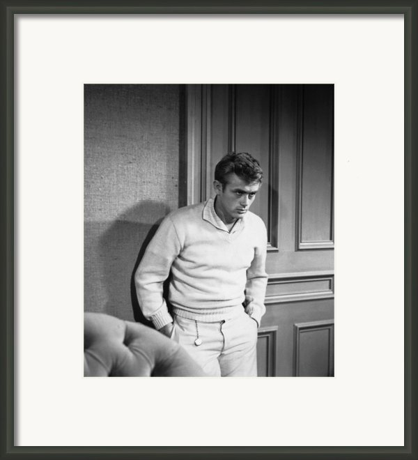East Of Eden, James Dean, 1955 Framed Print By Everett