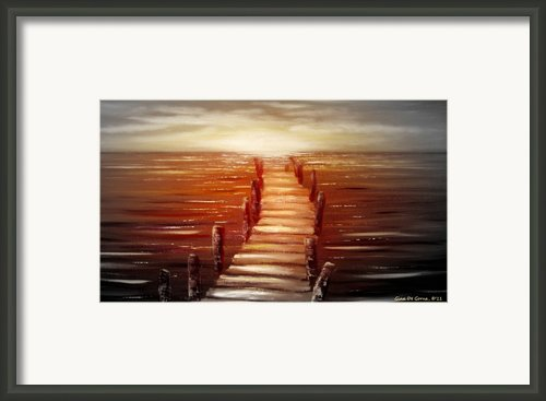 Escape Framed Print By Gina De Gorna