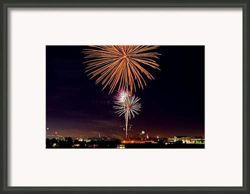 Fireworks Framed Print By Mark Weber