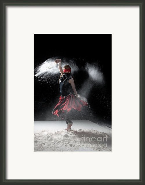 Flour Dancer Series Framed Print By Cindy Singleton