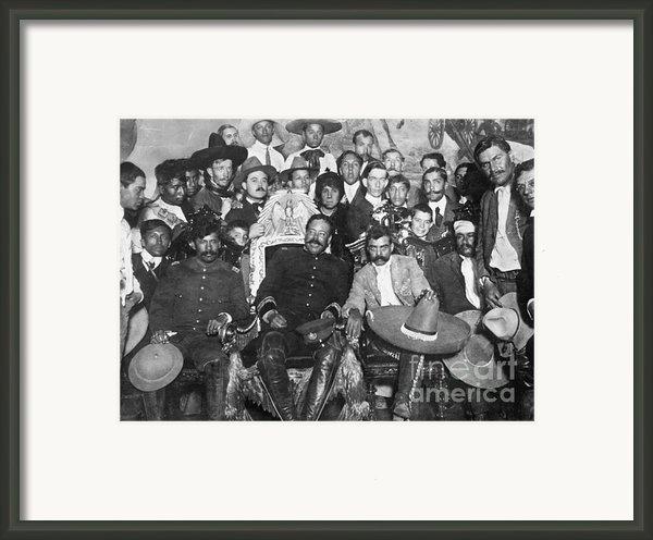 Francisco Pancho Villa Framed Print By Granger