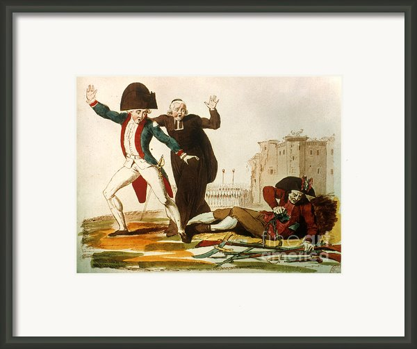 French Revolution, 1792 Framed Print By Granger