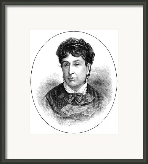 George Sand (1804-1876) Framed Print By Granger