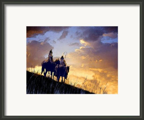 Going Home Framed Print By Paul Sachtleben