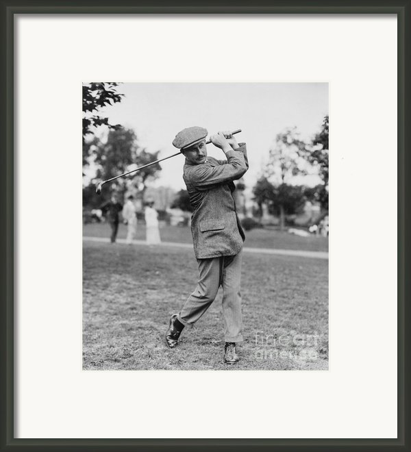 Harry Vardon (1870-1937) Framed Print By Granger