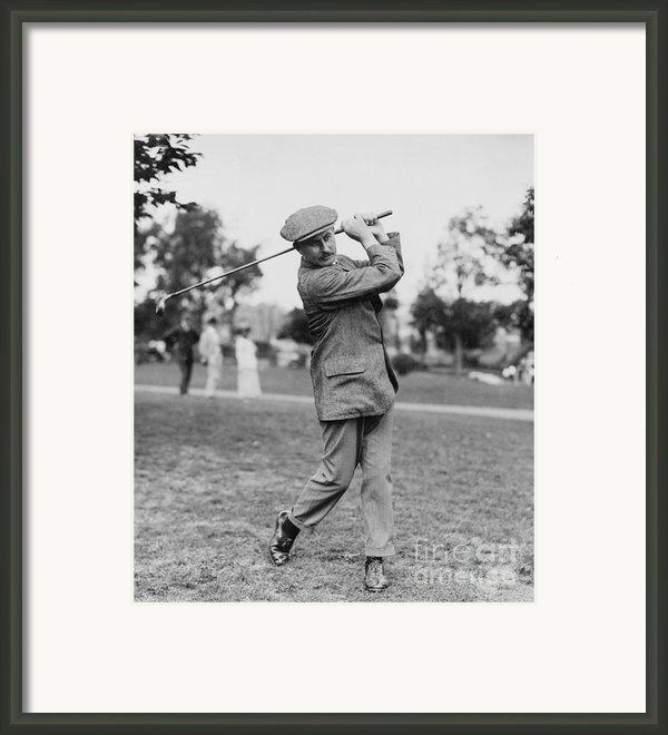 Harry Vardon (1870-1937) Framed Print By Granger