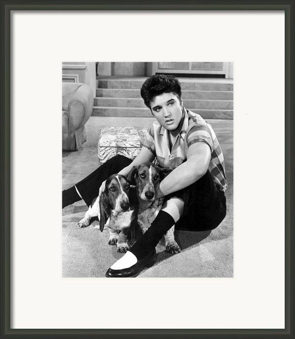 Jailhouse Rock, Elvis Presley, 1957 Framed Print By Everett