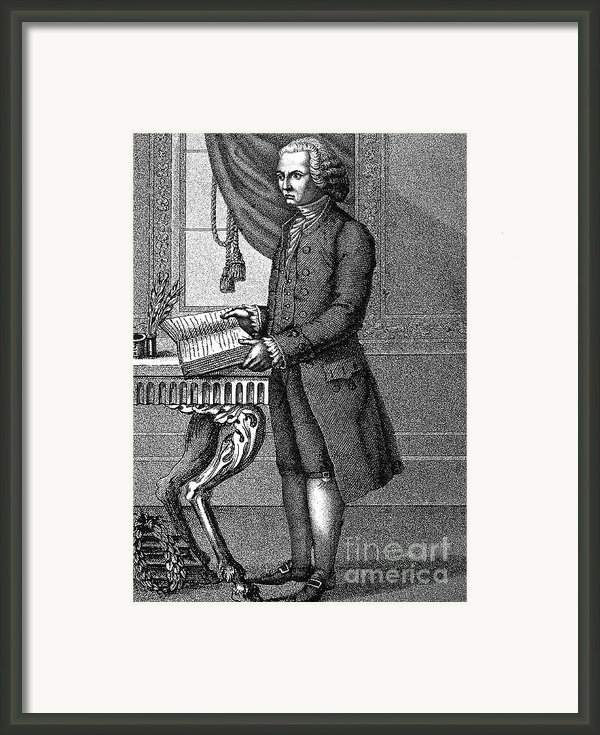 Jean Jacques Rousseau Framed Print By Granger
