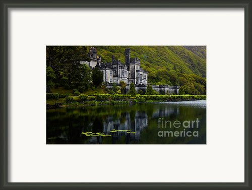 Kylemore Abbey Framed Print By Gabriela Insuratelu
