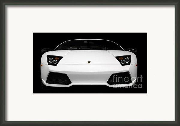 Lamborghini Murcielago Lp640 Coupe Framed Print By Oleksiy Maksymenko